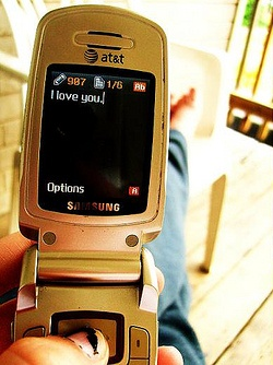 Text.I love you 2